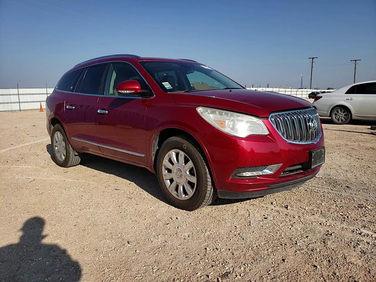 Salvage cars for sale from Copart Andrews, TX: 2014 Buick Enclave