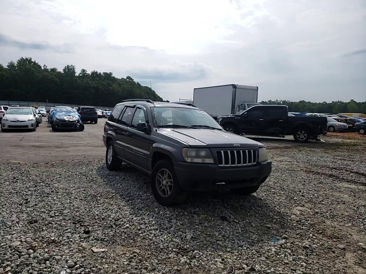 Jeep Grand Cherokee salvage cars for sale: 2004 Jeep Grand Cherokee