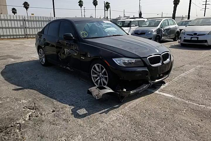 Salvage cars for sale from Copart Wilmington, CA: 2011 BMW 328 I Sulev