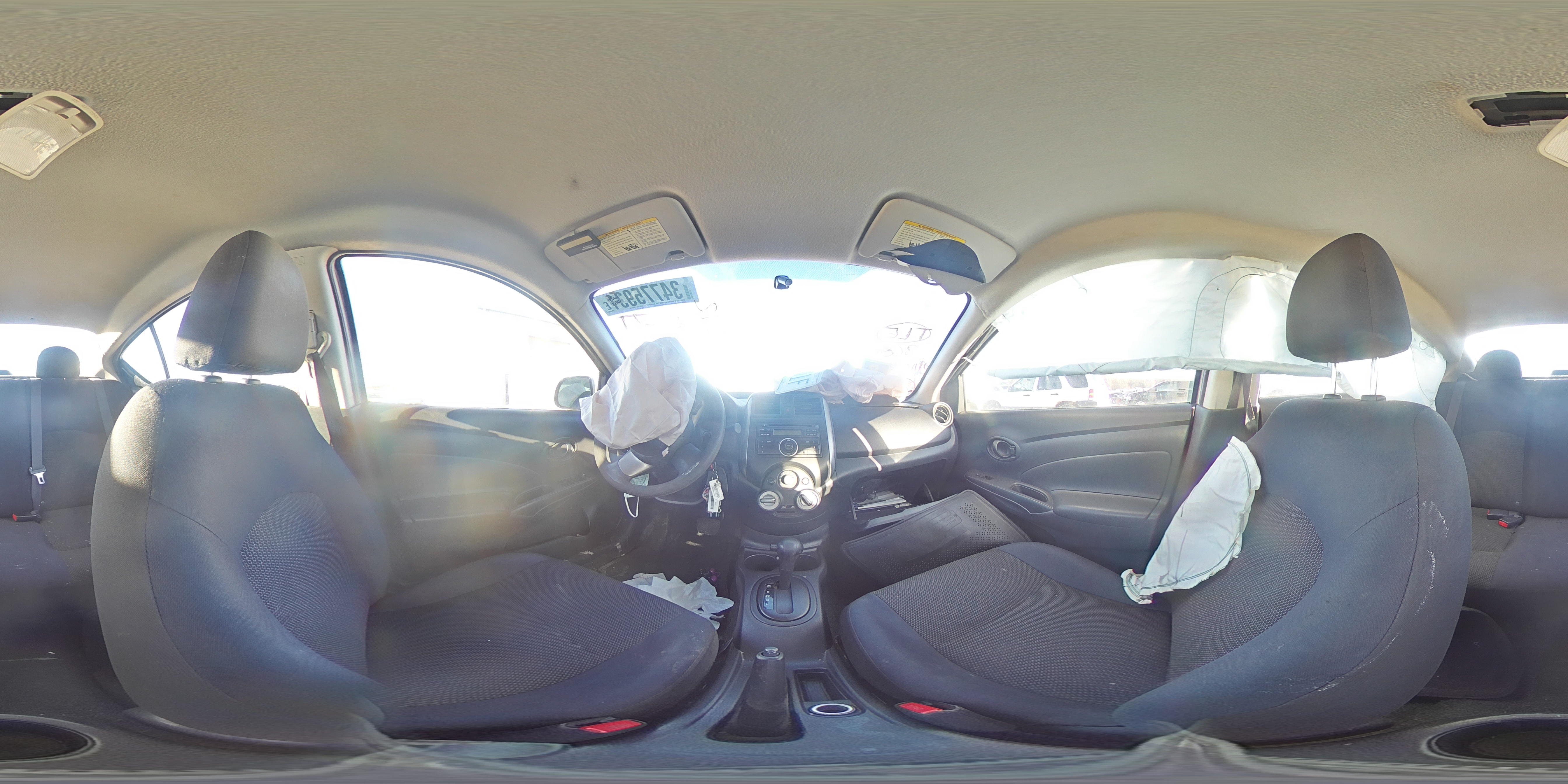 2012 NISSAN VERSA S - Other View