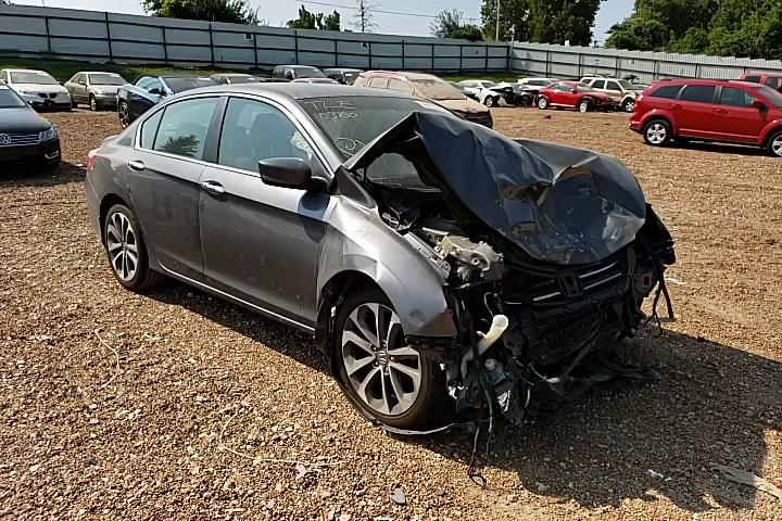 Salvage cars for sale from Copart Bridgeton, MO: 2013 Honda Accord Sport