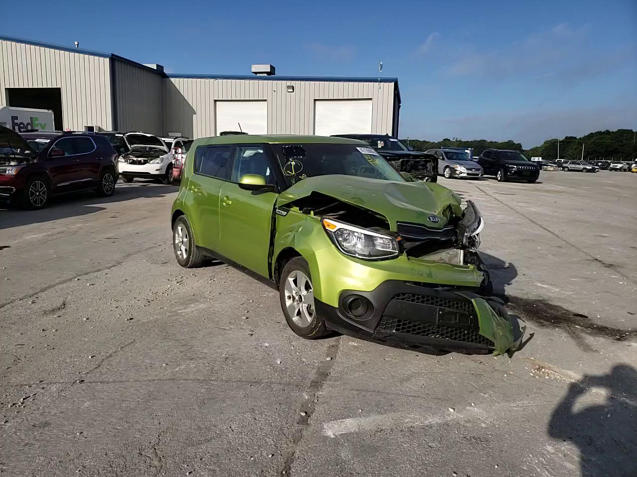 Salvage cars for sale at Rogersville, MO auction: 2018 KIA Soul