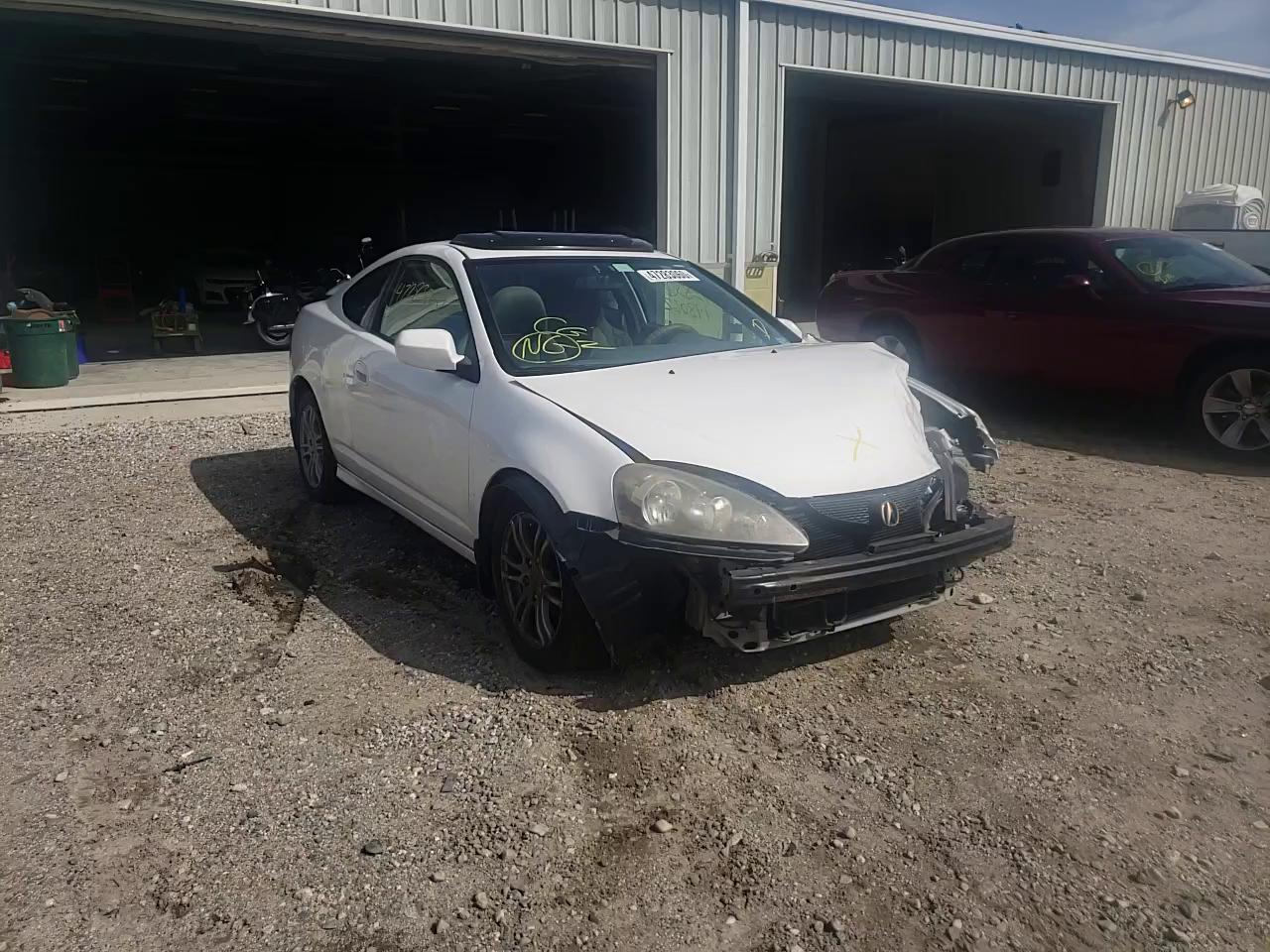 Acura RSX salvage cars for sale: 2005 Acura RSX
