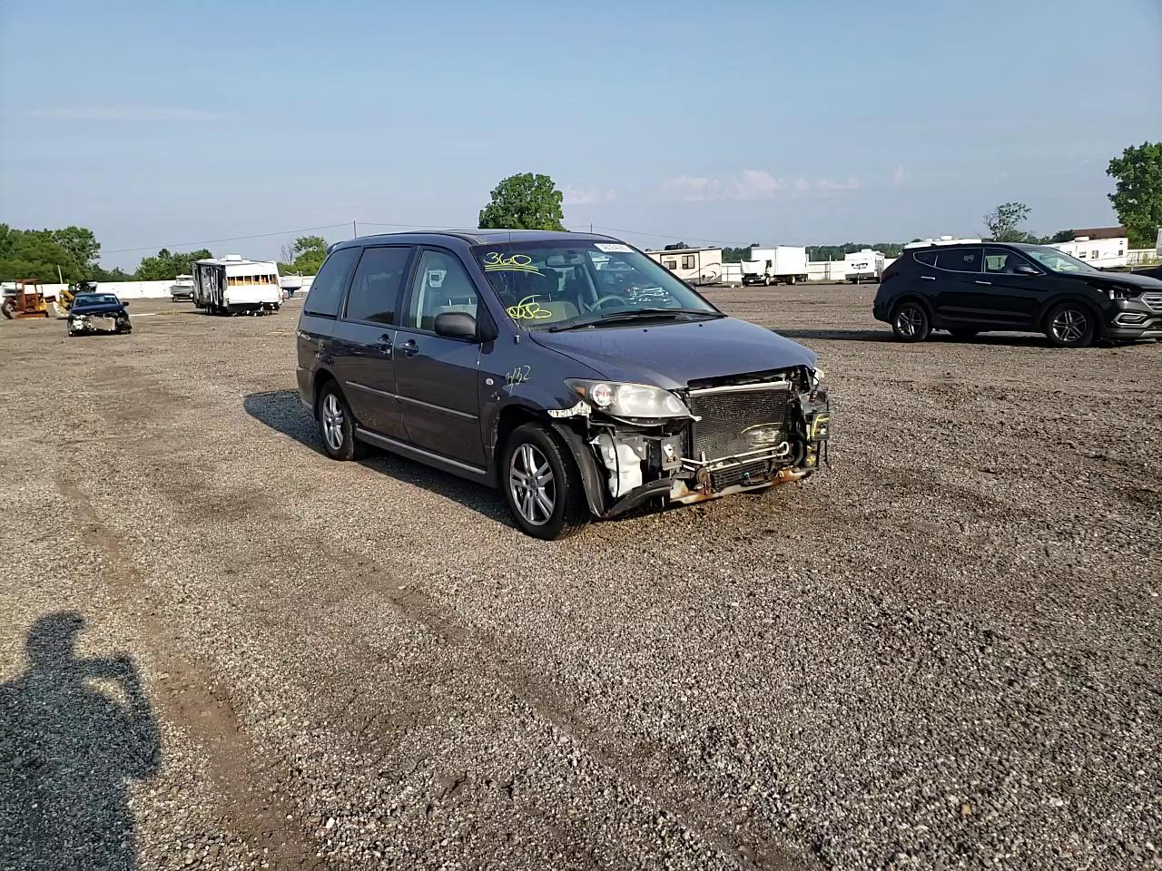 Salvage cars for sale from Copart Columbia Station, OH: 2006 Mazda MPV Wagon