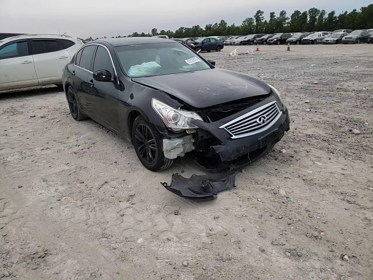 Infiniti G37 Base salvage cars for sale: 2010 Infiniti G37 Base