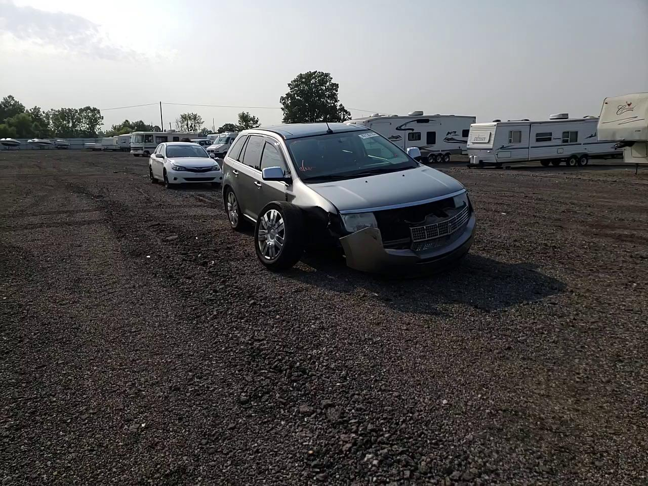 Salvage cars for sale from Copart Columbia Station, OH: 2008 Lincoln MKX