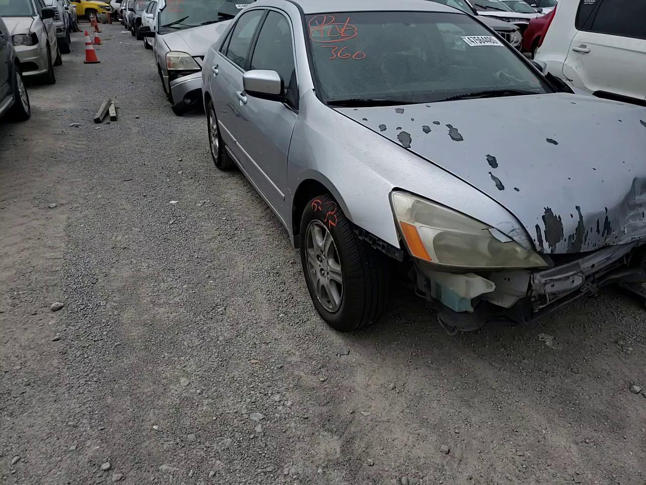 Salvage cars for sale from Copart Louisville, KY: 2007 Honda Accord SE