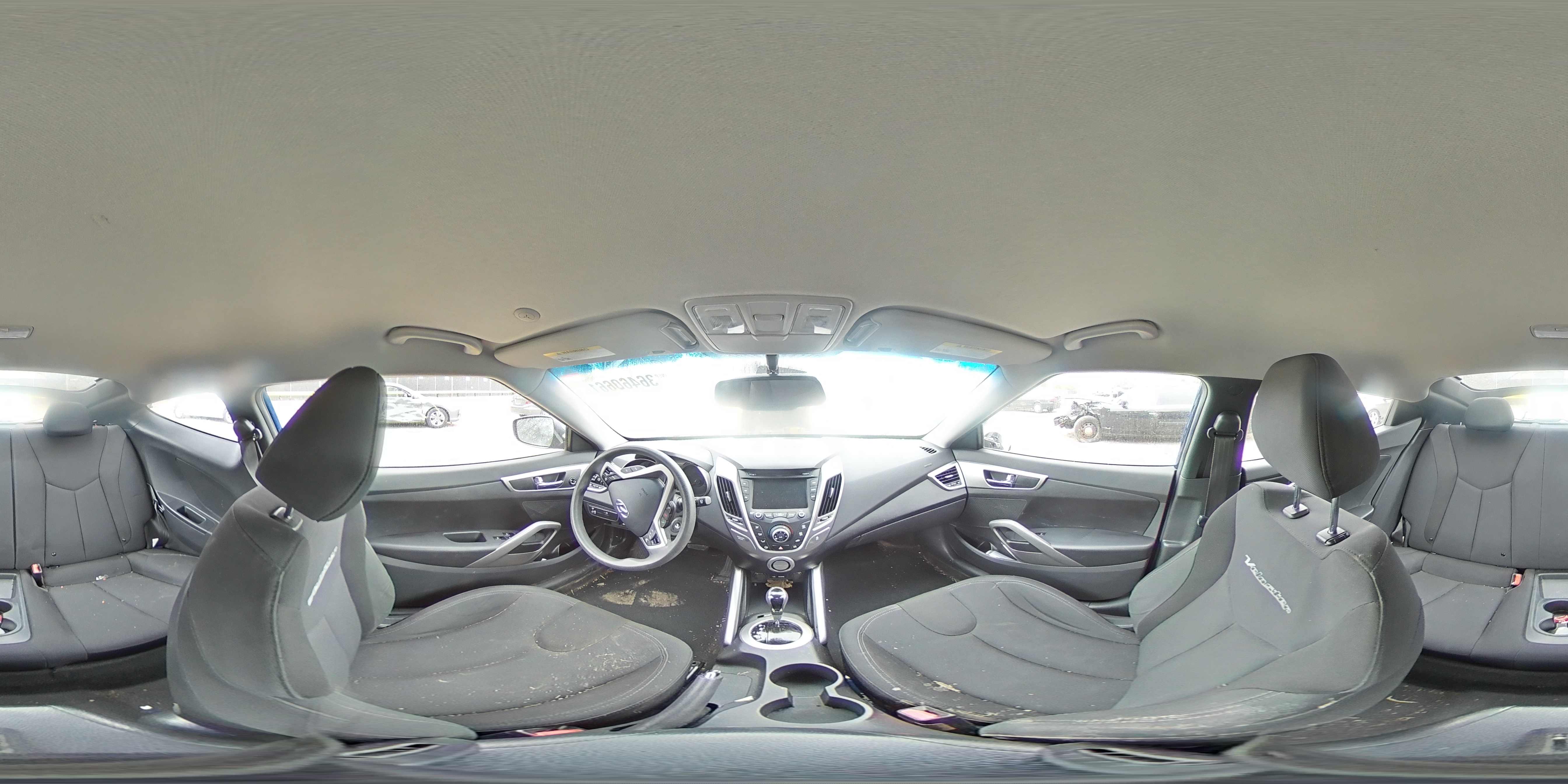 2012 HYUNDAI VELOSTER - Other View