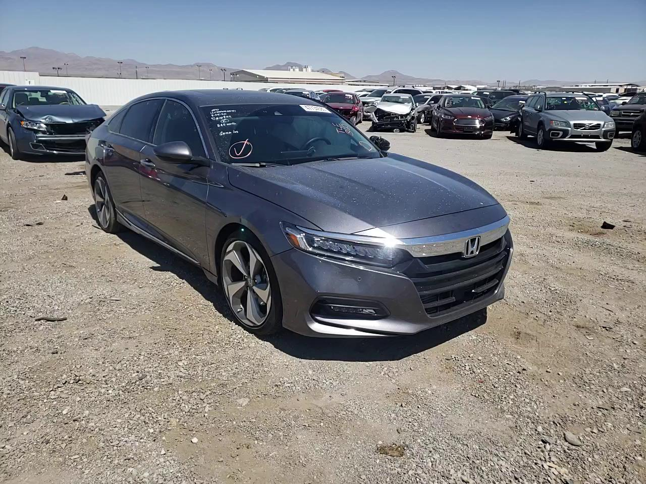 Salvage cars for sale from Copart Las Vegas, NV: 2018 Honda Accord TOU