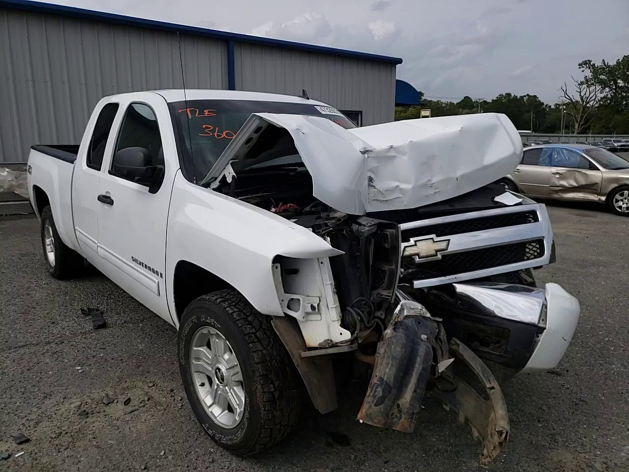 Salvage cars for sale from Copart Shreveport, LA: 2009 Chevrolet Silverado